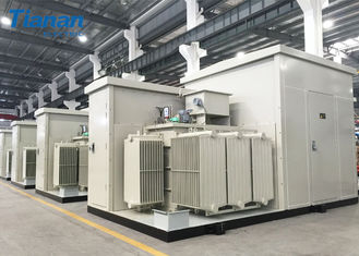 Prefabricated Compact Transformer Substation For Photovoltaic  / Wind Power