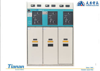 Indoor Gas - Insulated Medium Voltage Switchgear 10kV GIS Ring Main Unit Cabinet